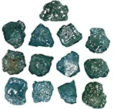 1.77 Ct Natural Loose Diamond Rough Shape Blue Color 13 Pcs L677