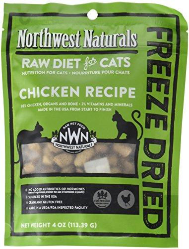Northwest Naturals Freeze Dried Raw Diet for Cats (Chicken, 4 oz) by Northwest Naturals