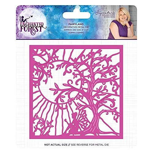 Sara Signature S-EF-MD-FRL Enchanted Forest Fairyland Metal Die Silver