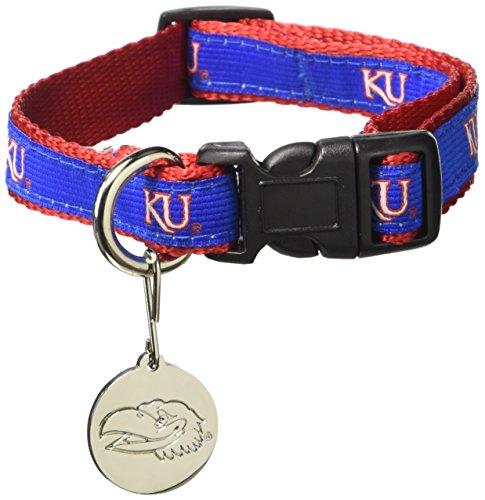 Sporty K9 NCAA Kansas Jayhawks Dog Collar, Small