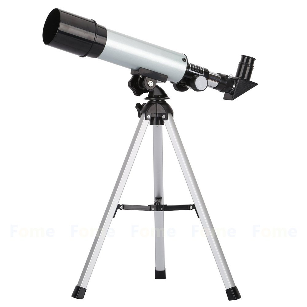 Telescope, FOME SPORTS&OUTDOORS 90X Portable Astronomical Refractor Telescope 360X50mm for Kids to Gazing Sky Star & Birds Watching One Year Warranty