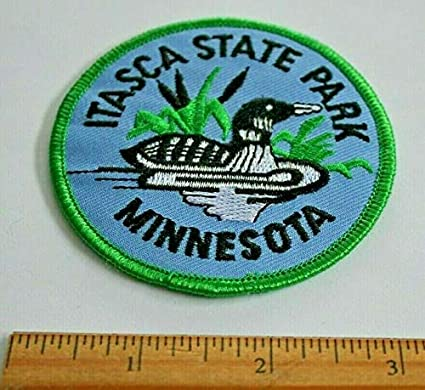 ITASCA STATE PARK MINNESOTA patch