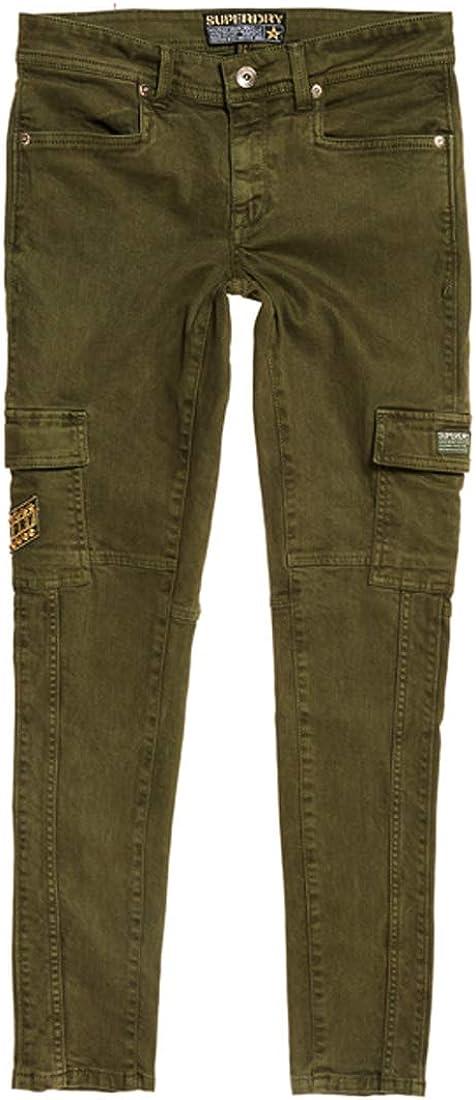 Superdry Daisey Skinny Cargo Pantalón para Mujer