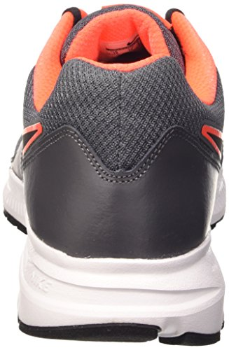 Nike Mens Downshifter 6, Mörkgrå / Svart - Hyper Orange - Vit, 11,5 M Oss