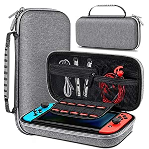 Best Epic Trends 51QhW4AB-5L._SS300_ BEBONCOOL Carrying Case for Nintendo Switch, Switch Travel Case Work with Nintendo Switch Dock Case, Portable Switch…