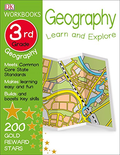 DK Workbooks: Geography, Third Grade: Learn and Explore