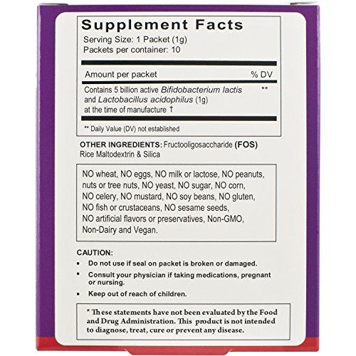 FloraTummys Probiotics Sprinkles 10ct (Pack of 6)