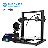SainSmart Creality ''CR-10 Mini'' 3D Printer Semi Assembled Aluminum with Heated Bed Printing Size 11.8'' x 8.66'' x 11.8''(300x220x300mm)