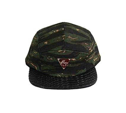 76baca22 Amazon.com: Hater Authentic Tiger Camo Snakeskin 5 Panel Hat Supreme ...