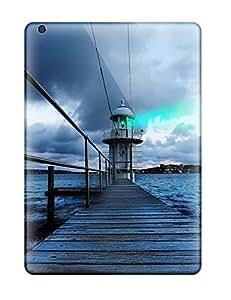 Pretty HrvnBOv1350hETvu Ipad Air Case Cover/ Lighthouse Series High Quality Case by icecream design