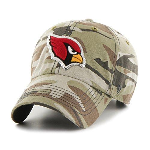 NFL Arizona Cardinals Women's Sparkle Camo Clean Up Hat, Women's, Faded Camo
