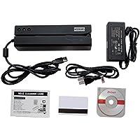Deftun MSR606I Magnetic Stripe Credit Card Reader Writer Encoder Magstripe Swipe MSR206