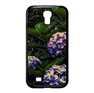 Purple Hydrangea HDR Watercolor style Cover Samsung Galaxy S4 I9500 Case (Flowers Watercolor style Cover Samsung Galaxy S4 I9500 Case)