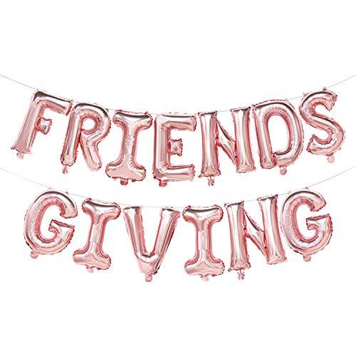 Friendsgiving Balloon Banner | Thanksgiving Friends Party Decoration