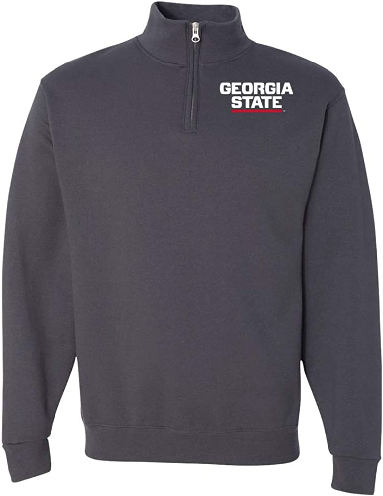NCAA Georgia State Patriots PPGSU03 Unisex Quarter-Zip Sweatshirt