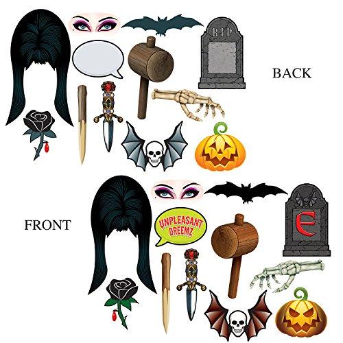 Beistle Club Pack Halloween Elvira Photo Fun Signs,