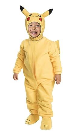 Amazon.com: Pokemon bebé Pikachu disfraz – tamaño 2T: Clothing