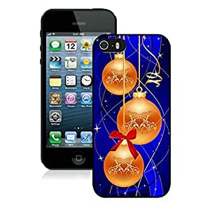 2014 Latest Iphone 5S Protective Case Merry Christmas iPhone 5 5S TPU Case 55 Black