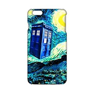 Cool-benz Doctor Who unique pavilion 3D Phone Case for iPhone 4/4s