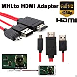 Professional MHL Micro USB To HDMI 1080P HDTV Cable Adapter For Samsung Galaxy LG Nexus Andoird Home Theater