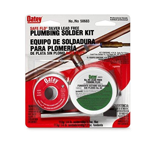 Oatey 50683 1/4lb Silver Safe Flo - Copper Plumbing Solder