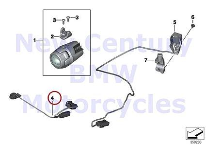 Awesome Amazon Com Bmw Genuine Motorcycle Auxiliary Driving Light Wiring Wiring Database Xlexigelartorg