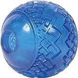 Pet Buddies PB1134 Pooch Dura Ball Toy, TPR Blue, My Pet Supplies
