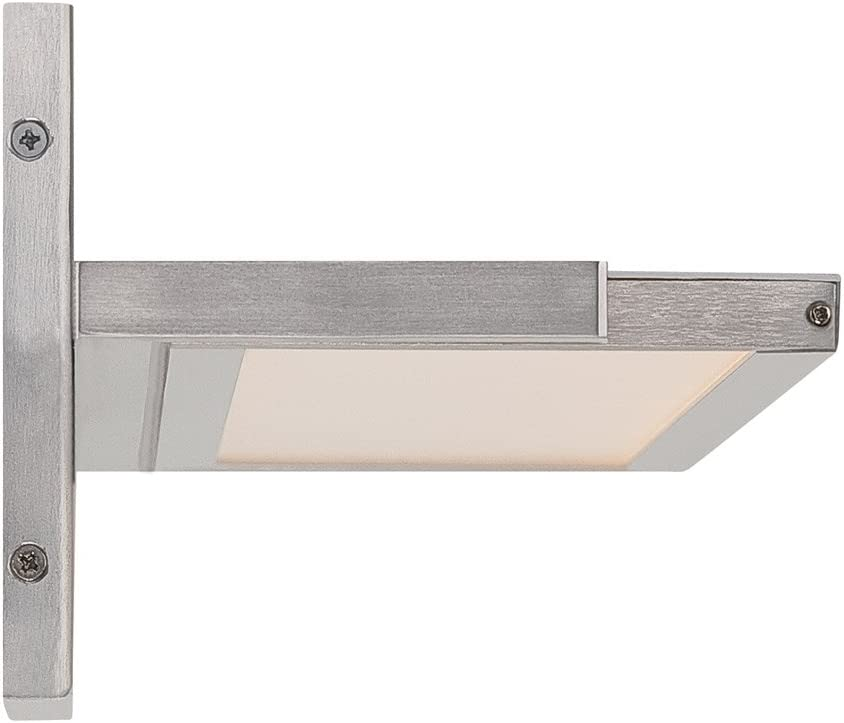 WAC Lighting WS-6736-27-AL 36in Warm White Brushed Aluminum Line LED Bath /& Wall Light 36 Inches,