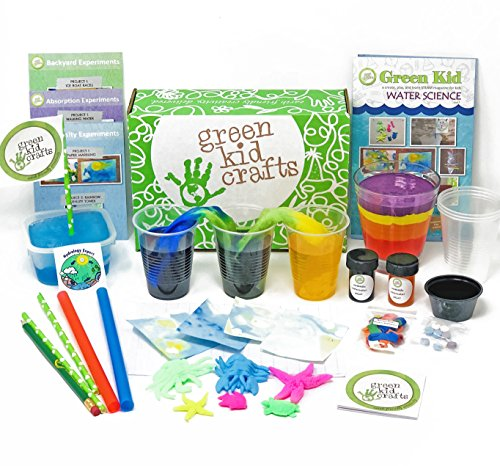 Green Kid Crafts, Water Science Discovery Box