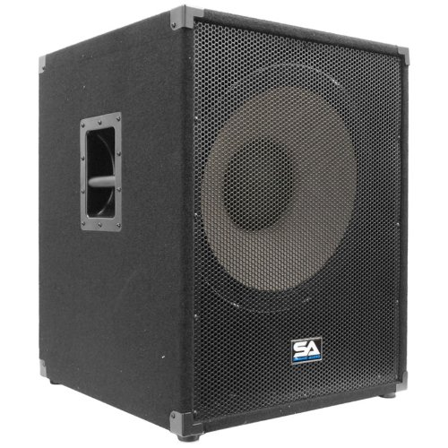 Seismic Audio - Enforcer II - Pair of PA 18'' Subwoofer Speaker Cabinet