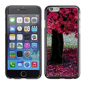 Be Good Phone Accessory // Dura Cáscara cubierta Protectora Caso Carcasa Funda de Protección para Apple Iphone 6 // Nature Pink Tree