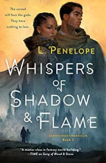 Book Cover: Whispers of Shadow & Flame