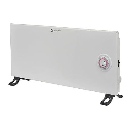 Radiador convector color blanco 800 W con programador