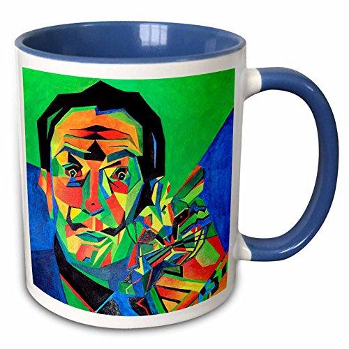 3dRose Salvador Dali Abstract Mug, 11 oz