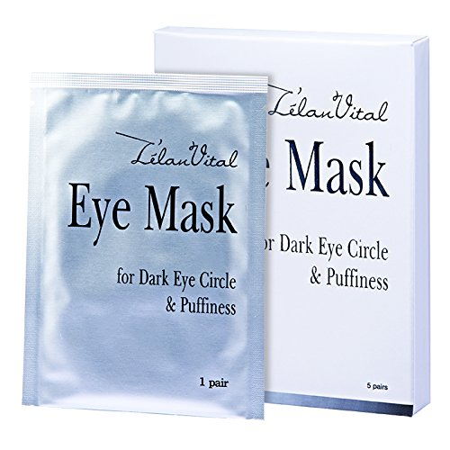 12 x Cosway L'elan Vital Eye Mask For Dark Eye Circle & Puffiness ( 5 Packs Per Set )