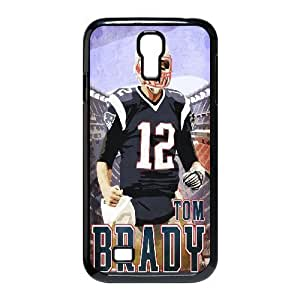 Tony Diy MENGYANX cell phone case cover - Custom New England Patriots Tom Brady #12 protective case cover For SamSung Galaxy S4 case cover uMqnwz2DNNH case cover-9