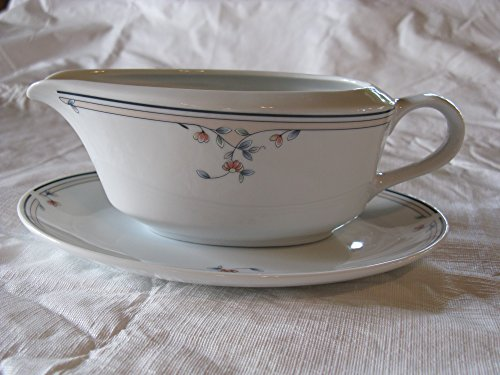 Boat Gravy Blossom (Princess House Heritage Blossom Gravy Boat with Underplate)