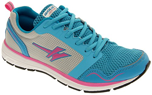 Gola Active Dames Ala697 Speedplay Lichtgewicht Trainings Sneakers Blauw