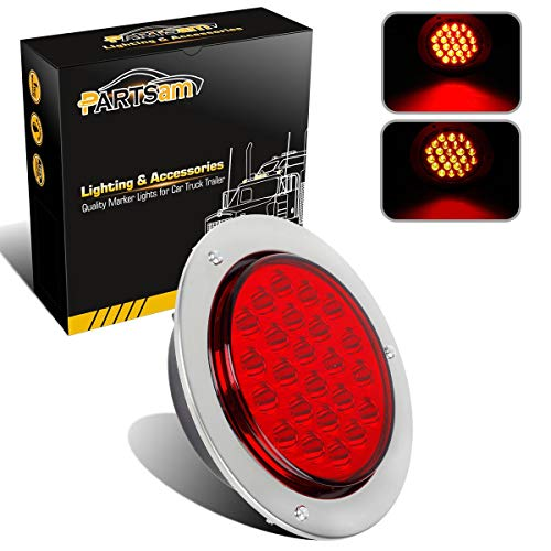 4In Round Led Tail Lights in US - 8