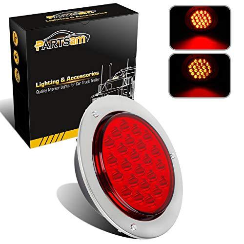 (Partsam Universal Red 24 LED 4