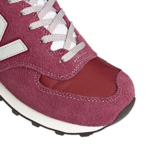 NEW BALANCE ML574VBU RED sneakers shoes man-47,5