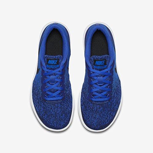 Nike Kinder Laufschuh Flex Contact, Zapatillas de Running Unisex Niños Blau (Racer Blue/Black-White 402)