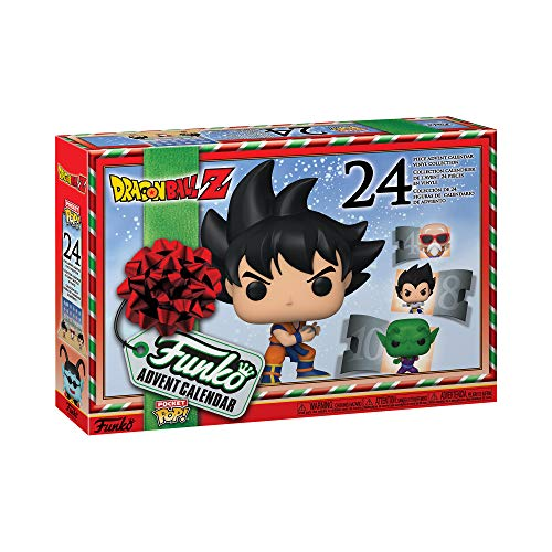 Funko Pop Advent Calendar Dragon Ball Z, Multicolor (49660)