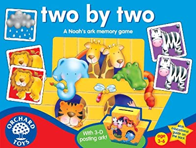 Two By Two Memory Game from Orchard Toys