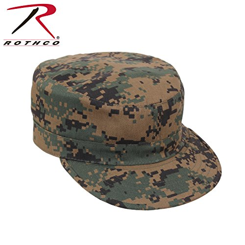 Rothco Adjustable Fatigue Cap, Woodland Digital