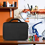Geecow Battery Storage Organizer Case with Battery