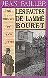 Les enquêtes de Mary Lester, tome 24 : Les fautes de Lammé-Bouret par Failler