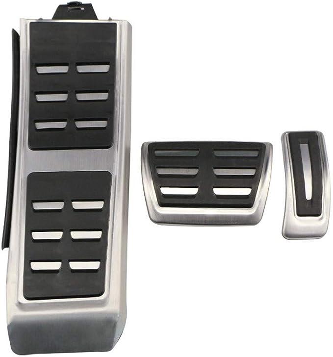 Dandelg Auto Pedale Bremse Fußstütze Pedalabdeckung Autozubehör Passend Für Audi A4 B8 A6 A7 A8 S4 Rs4 A5 S5 Rs5 8t Küche Haushalt