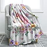 "Jekeno Unicorn Throw Blanket Smooth Soft Blanket for Sofa Clair Bed Office 50""x60"" (Unicorn 15)"