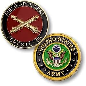Field Artillery, Fort Sill, OK - Challenge Coin